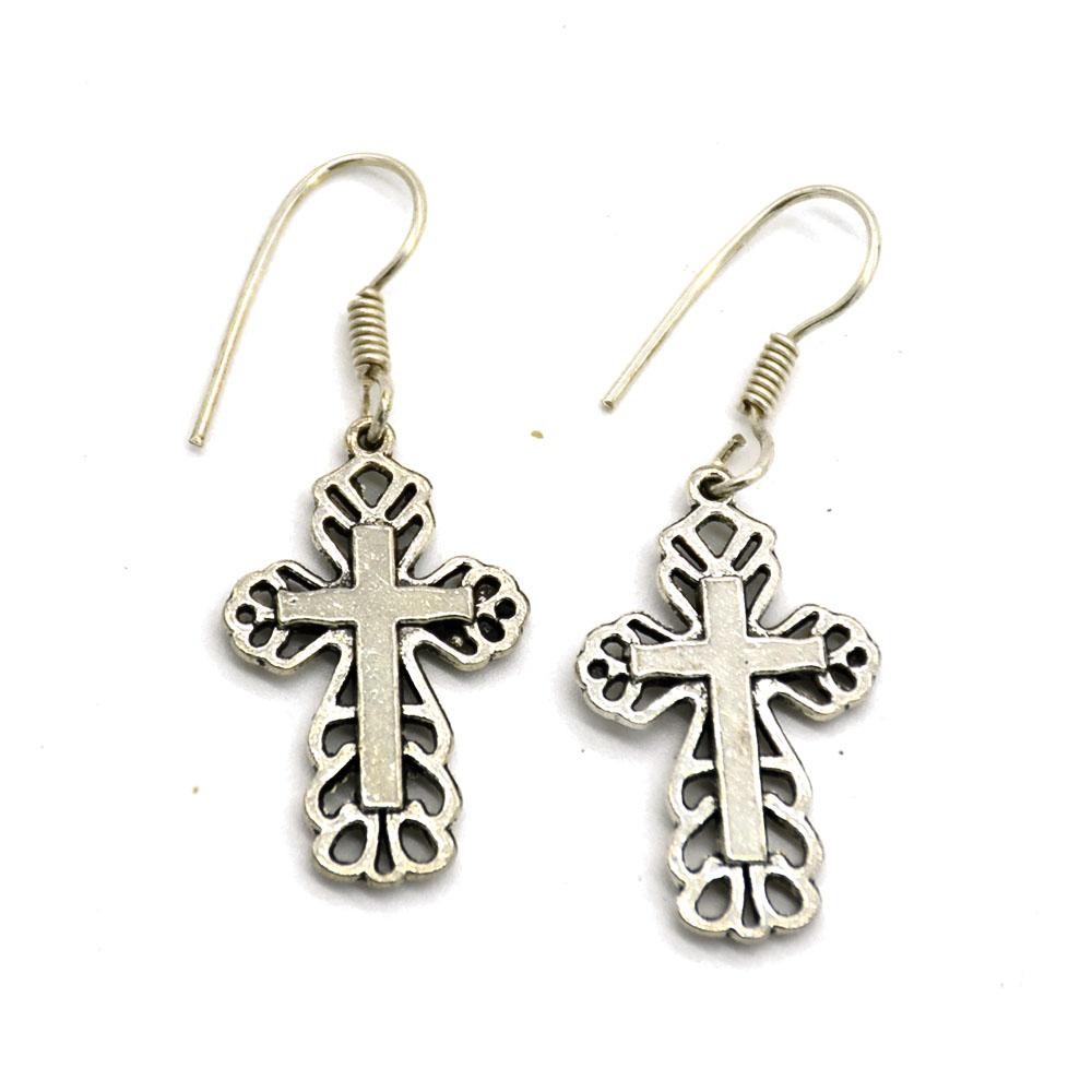Christian Cross Earrings