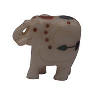 MAA-604B,Stone White Multed Peach Work Elephant-a