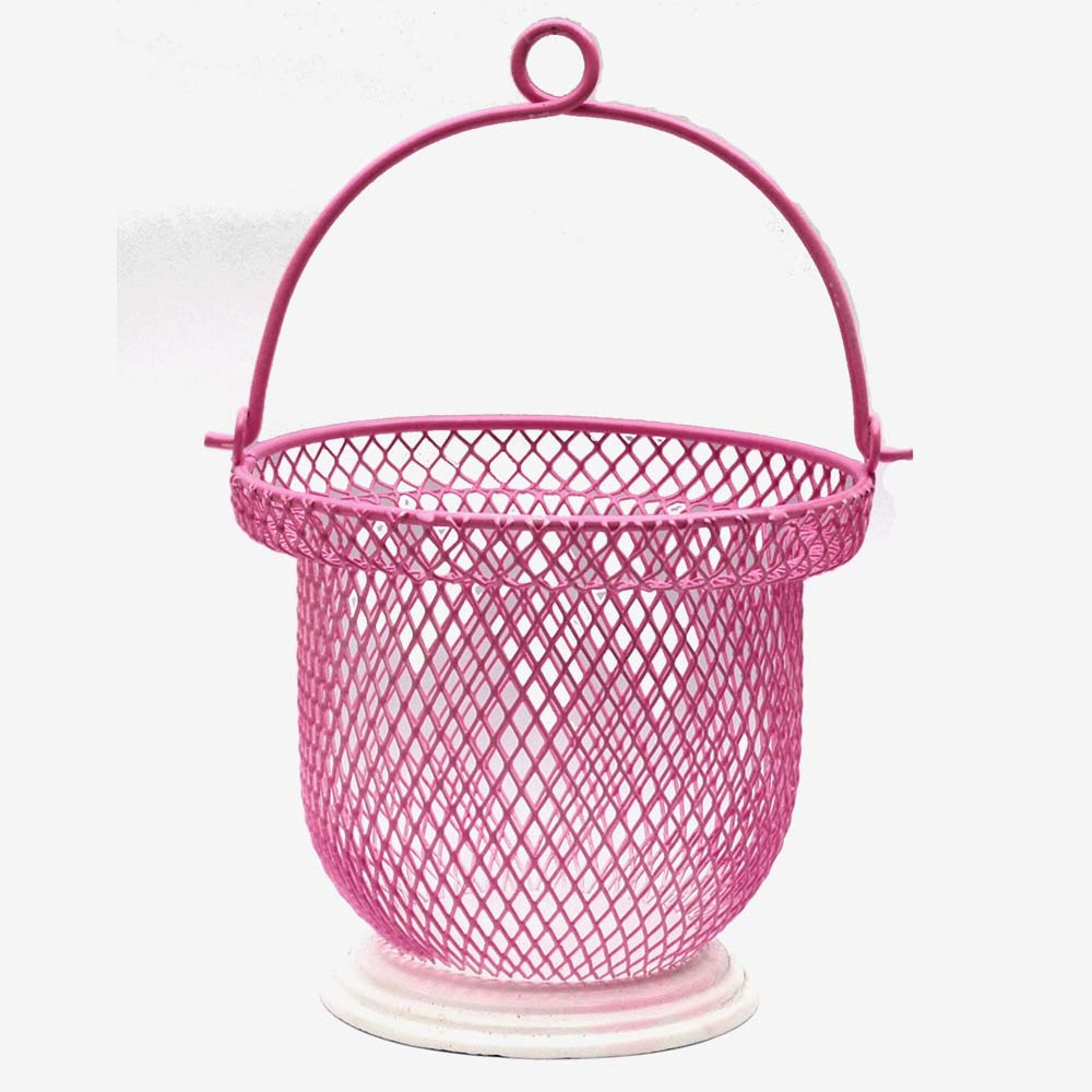 Beauty Pink Jali Basket