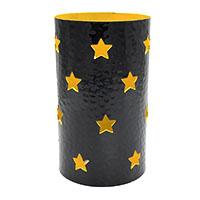 Stars in Cylindrical Tea Light Holder