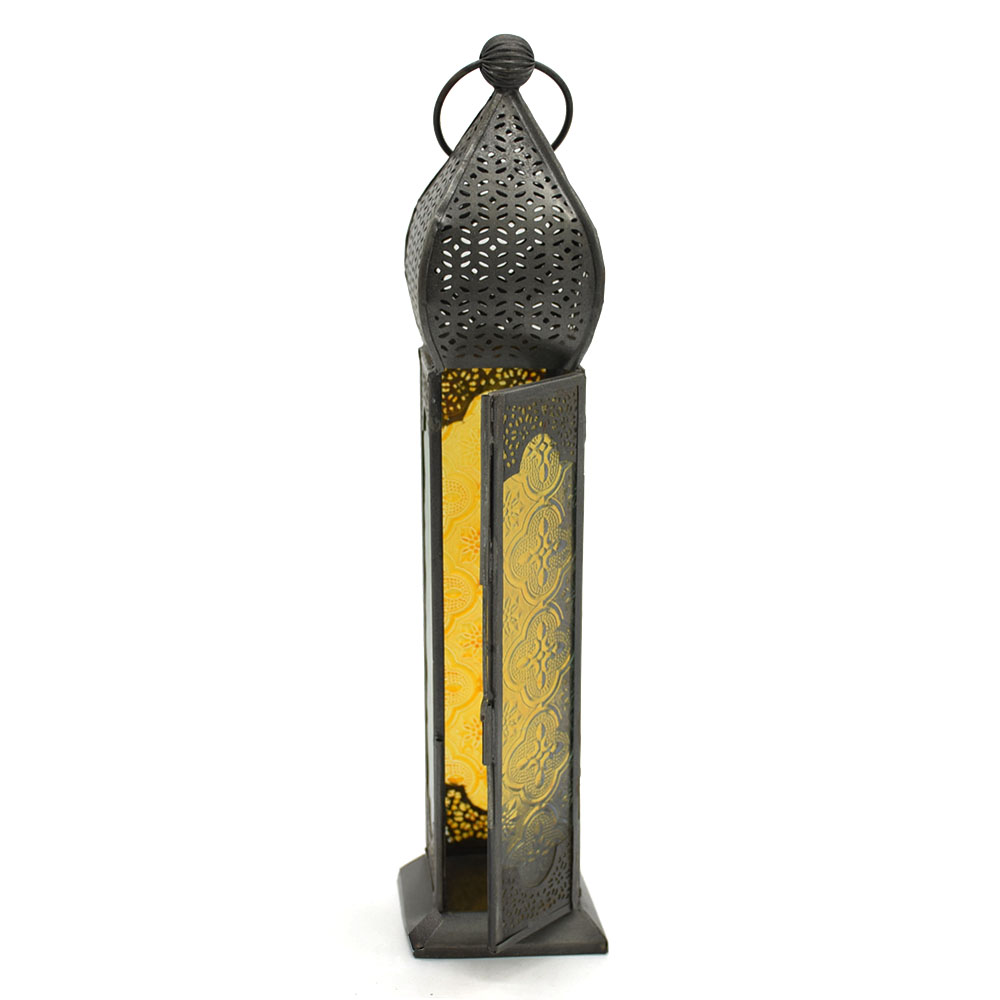 Candle Shape Glass Lantern