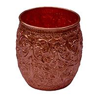 Jodha Flower Work Copper Glass