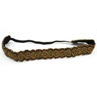 MHA-501,Golden Beads HeadBand@-a