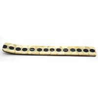 MIA-2105,Polka Dot Bone Incense Holder-a