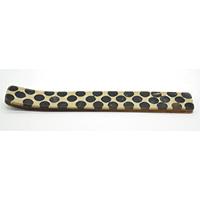 MIA-2106,Black Polka Dot Bone Incense Holder-a