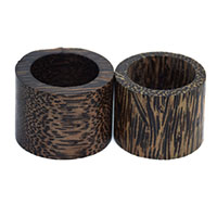 Coconut Napkin Rings-Set of 2