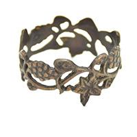 MNpA-1504, Flowers Napkin Ring-a