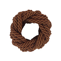 Bunai Brown Thread Napkin Ring