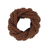 MNpA-1512,Bunai Brown Thread Napkin Ring-a