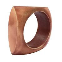 Resin Brown Chokkar Napkin Ring