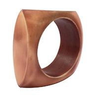 MNpA-1514,Resin Brown Chokkar Napkin Ring-a
