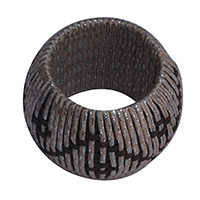 Round Chattai Bunnai Thread Napkin Ring