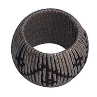 MNpA-1519A,Round Chattai Bunnai Thread Napkin Ring-a