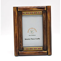 MPfA-2206,Wooden Double Rows Painted Photo Frame-a