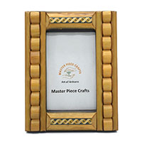 MPfA-2208,Wooden Rings Carving Photo Frame-a,6x8