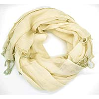 Cream Coloured Scarf