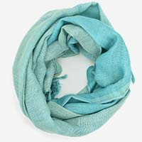Turquoise Coloured Scarf