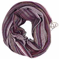 Purple Multed Printed Scarf