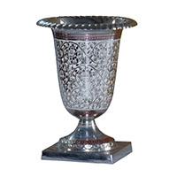 MVA-705,Brass Chitai Work Gulbahar Flower Vase1-a