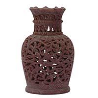 Stone Flower Work Flower Vase