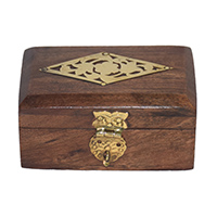 MWA-1425,Sheesham Wood Cut Jali Gift Box-a
