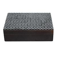 Sajai Silver Plated Sitara Wood Box