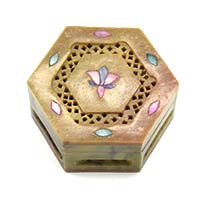 Floral Jali Box-Small