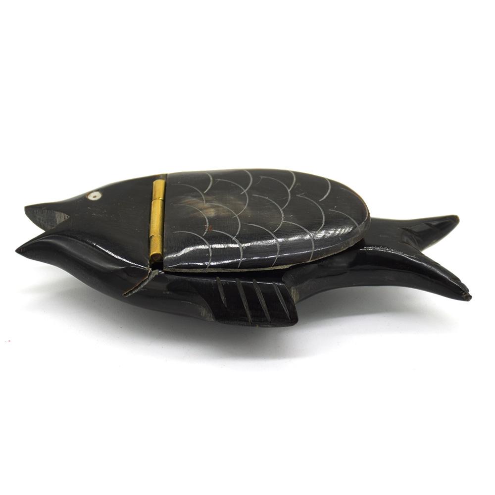 Black Horn Fish Box
