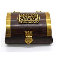 MWA-1435,Rose Wood Brass Beauty Chest-a