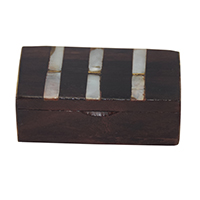 MWA-1458,Wood Sheesham Shell Small Box-a