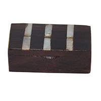 Rose Wood Shell Small Box
