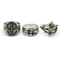 Silver Men Finger Ring
