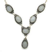 MNA-161Oval-Moon-Stone-Silver-Oxidised-NecklaceNickel-Free-a