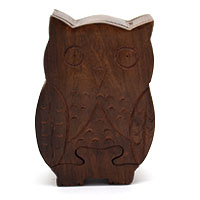 MGA-2812,Owl Puzzle Box-aa