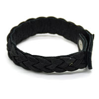 Black Bunai Men Bracelet