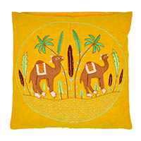 Camel In Dessert Pillow Cover