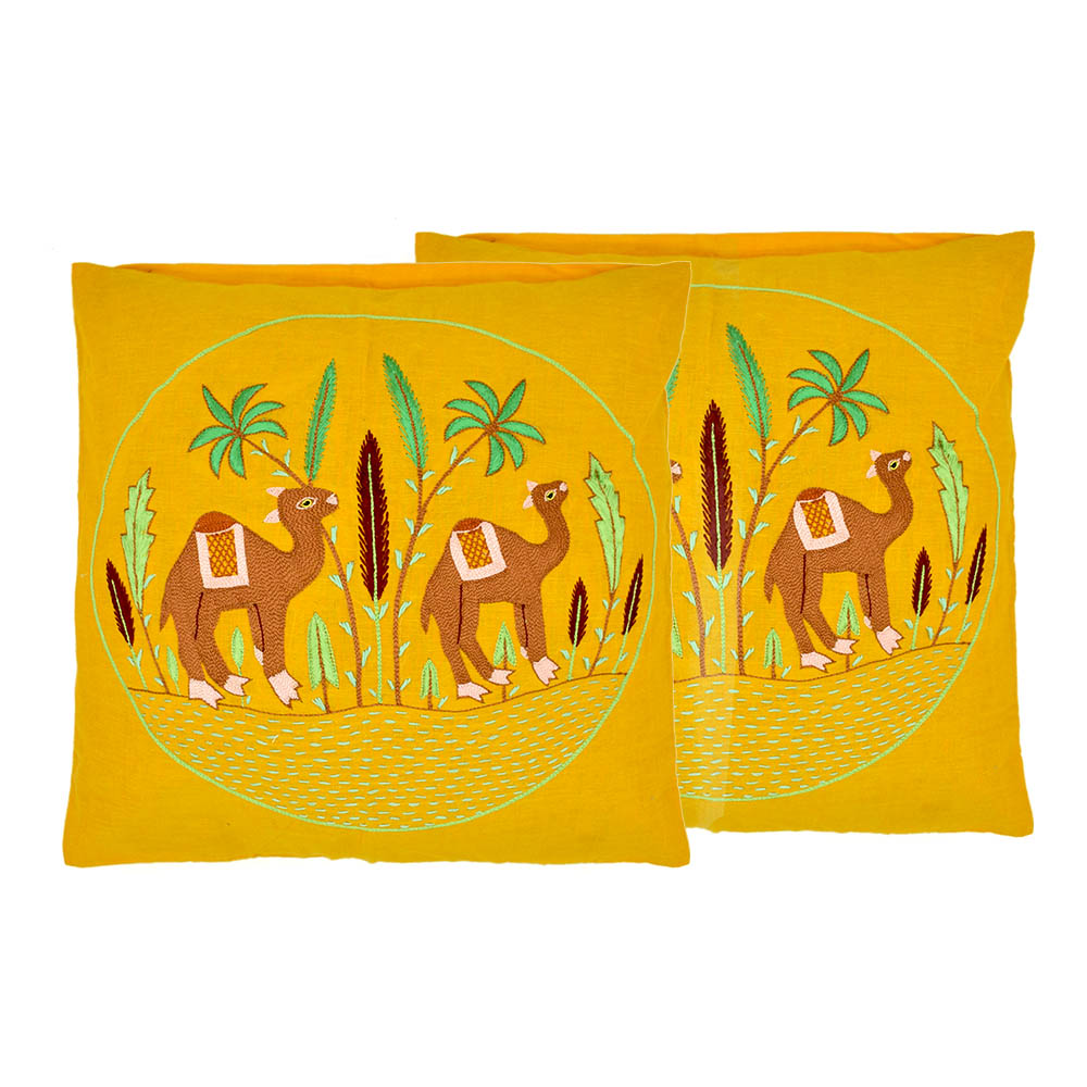 Camel In Dessert Pillow Cover