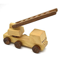 MGA-2822,Wooden Fire Brigade Toy4-a