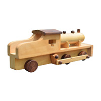 MGA-2830,Wooden Engine Toy -a