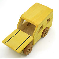 MGA-2833,Wooden Jeep Toy1-a