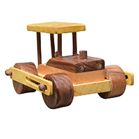 MGA-2836,Wooden Toy Road Roller-a