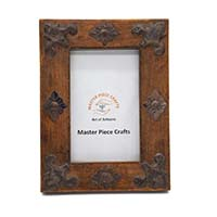 MPfA-2213,Vintage Wooden Photo Frame(7x8)-a