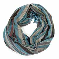 Multed Silver Line Shade Scarf