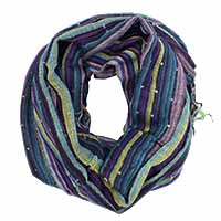 Purple Multed Scarf