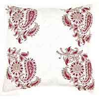 Fuchsia Garden Pillow Cover
