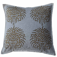 MPiA-2713,Palm Tree Block Print Pillow Cover(45x45)-a