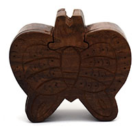MGA-2803,Butterfly Puzzle Box-1a