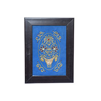 MWaA-3303,Zardozi Embroidered Wall Hanging-a