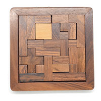 MGA-2838,Piece-It-Together Wood Game -a
