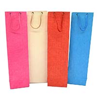 Paper Cotton Eco Friendly Gift Bags-Set of 10
